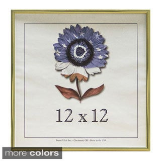 Metal I 12-inch x 12-inch Picture Frame