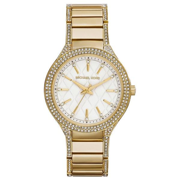 Michael Kors Women's MK3347 Goldtone Stainless Steel Quartz Watch