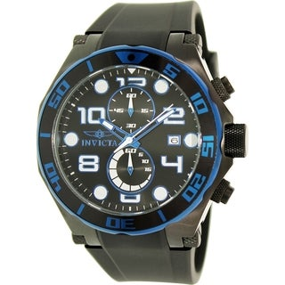 Invicta Men's Pro Diver 17816 Black Rubber Quartz Watch