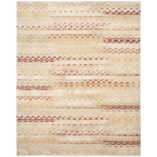Safavieh Evoke Cream/ Orange Rug (8'6 x 12')
