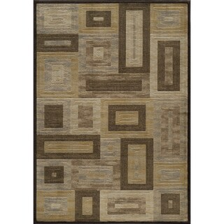 Illusion Puzzle Area Rug (7'10 x 9'10)