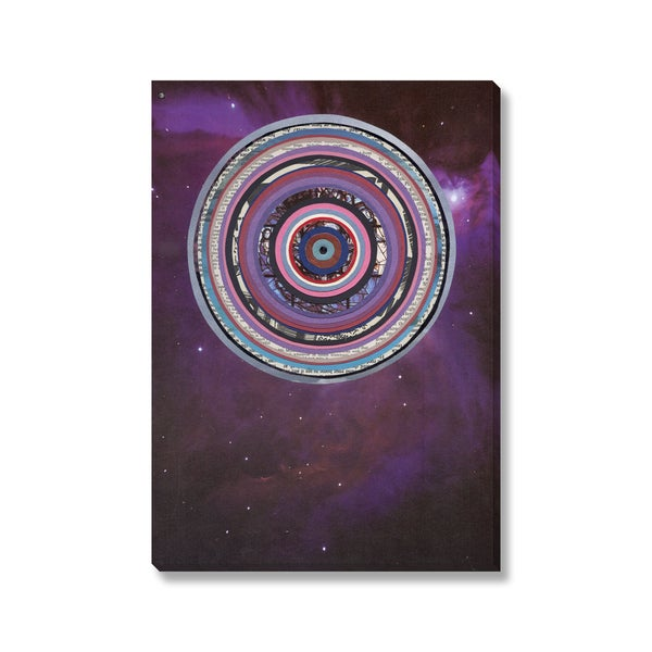 Laurie McCall 'Galactica' Gallery Wrapped Canvas