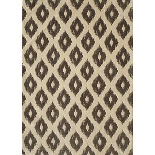Softique Diamond Hand-tufted Area Rug (7'6 x 9'6)