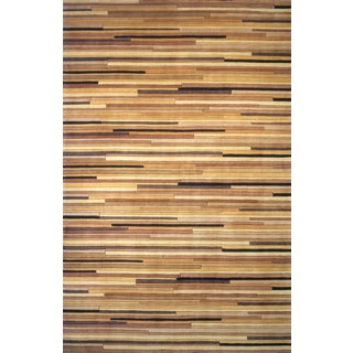 New Wave Mendocino Hand-tufted Wool Rug (7'6 x 9'6)