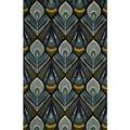 Global Guliston Hand-tufted Wool Area Rug (8' x 10')