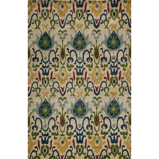 Global Khiva Hand-tufted Wool Area Rug (8' x 10')
