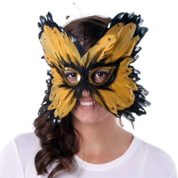 Rooster and Goose Butterfly Mask