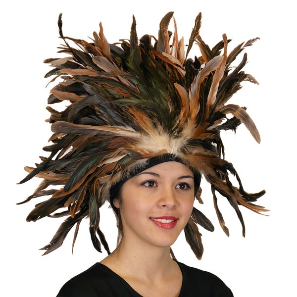 Feather Headdress Crown