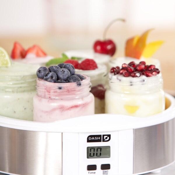 Dash DSY007CM 7-jar Yogurt Maker