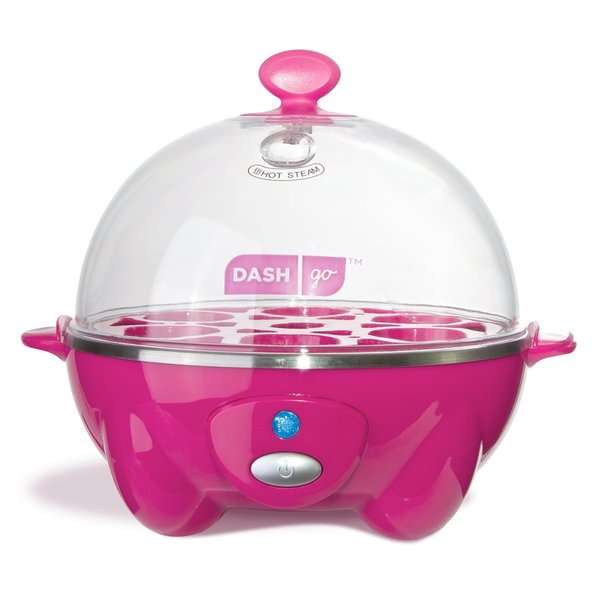 Dash DEC005PK Pink Rapid 6-egg Cooker