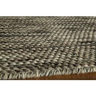Sorrel Marled Reversible Indoor Hand-woven Wool Rug (8' x 10')