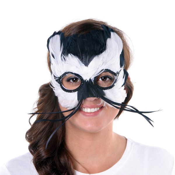 Feather Cat Mask