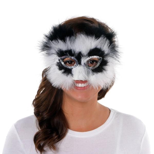 Feather Panda Mask