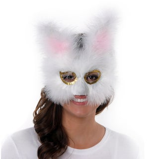 Feather Bunny Mask