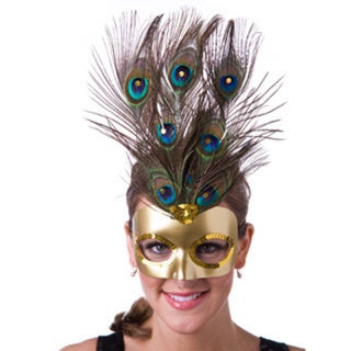 Feather Peacock Mask