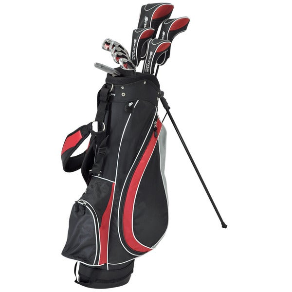 Orlimar Fireline Complete Golf Set Graphite/ Steel with Stand Bag and Headcovers
