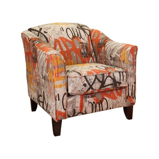 Somette Tangerine Kent Chair