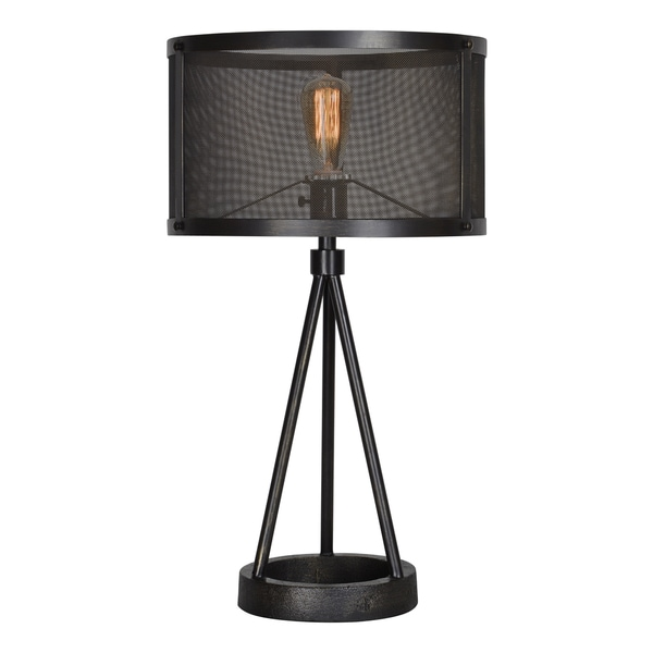 Renwil Livingstone 1-light Black Table Lamp
