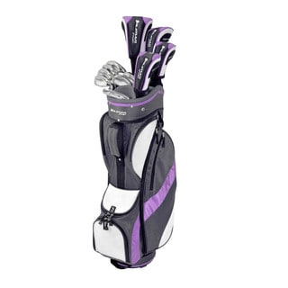 Orlimar Optiva Ladies Complete Golf Set Graphite with Bag and Headcovers