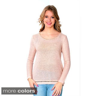 Nancy Yang Women's Knit Long Sleeve Sweater