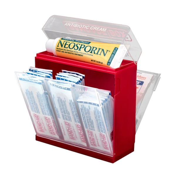 Discovery Inc. Bandage Box First Aid Organizer