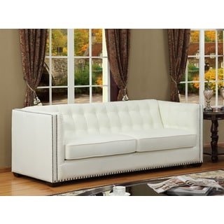 Belarie Leather Sofa