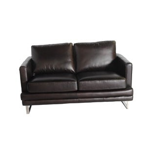 Melbourne Leather Loveseat