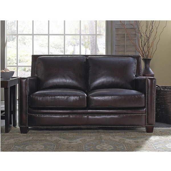 Simplicity Leather Loveseat