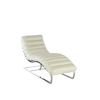 Toscana Leather Chaise by Lazzaro Leather
