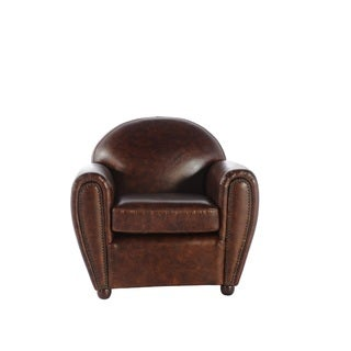 Lincoln Cigar Leather Chair