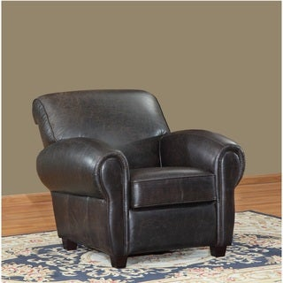 Sicar Leather Club Chair by Lazzaro Leather