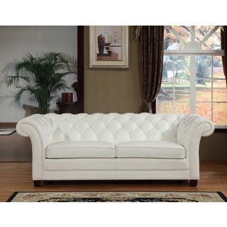 Victoria Leather Sofa