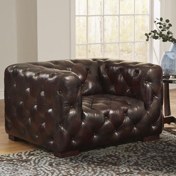 Manhatton Leather Chair