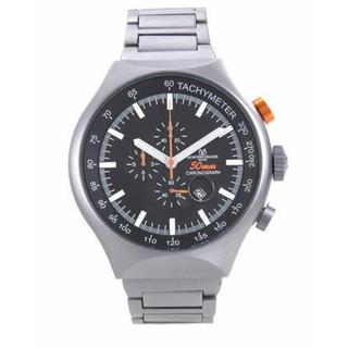 Men's TYPE 12 NERO Aluminium Chronograph Watch (As Is Item)