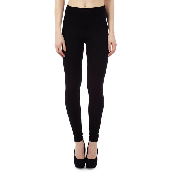 Golden Black Rochelli Seamless Black Leggings (Pack of 6)