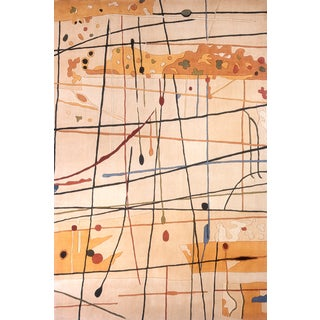 New Wave Painter Hand-tufted Wool Rug (9'6 x 13'6)