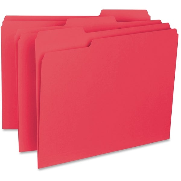 Sparco 1/3-cut Internal File Folders