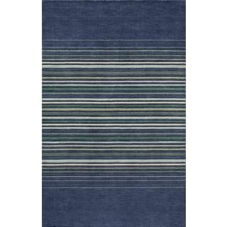 "Momeni Loft Stripes Hand-Loomed Wool Rug (9'6"" x 13'6"")"