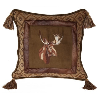 18-inch Lodge Moose Pillow