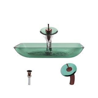 Mr Direct 640 Emerald Oil Rubbed Bronze Bathroom Ensemble