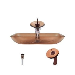 Mr Direct 640 Coral Oil Rubbed Bronze Bathroom Ensemble