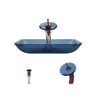 Mr Direct 640 Aqua Oil Rubbed Bronze Bathroom Ensemble