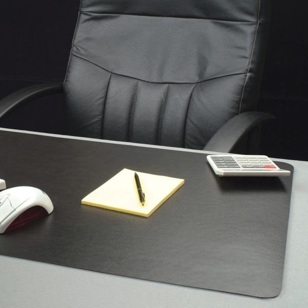Lorell Black Bio-based Desk Pad