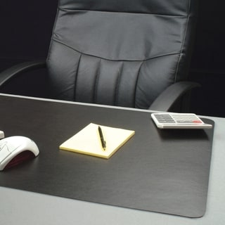 Lorell Black Bio-based Desk Pad