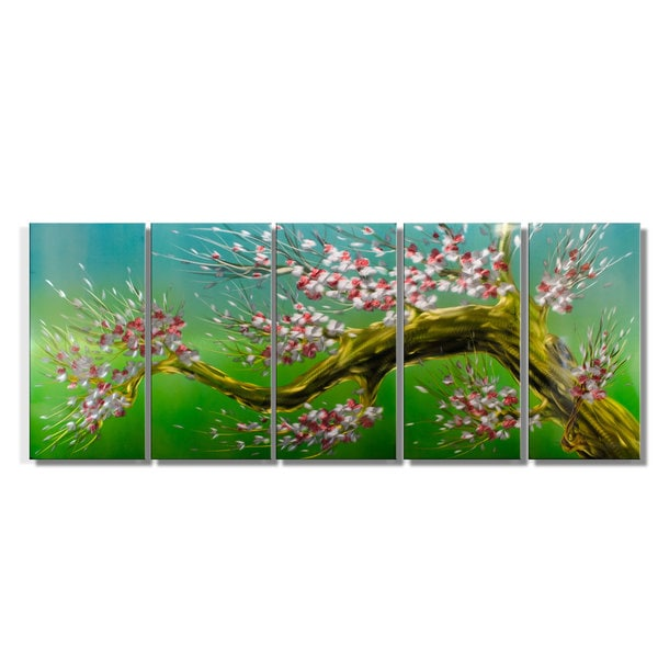 Spring Blossom' Extra Large Metal Wall Art 14994499