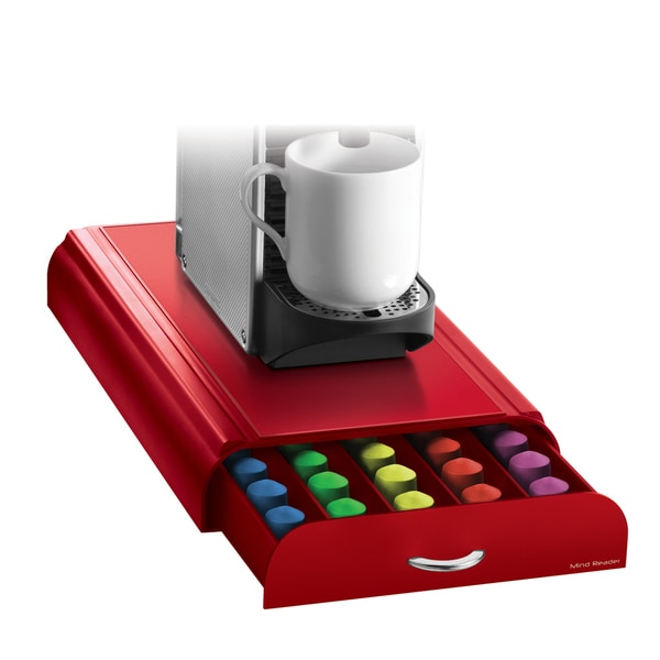 Anchor Red Nespresso Coffee Pod Drawer