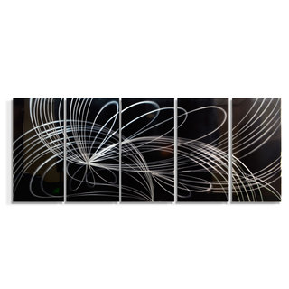 'Space Travel' XL Metal Wall Art