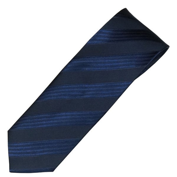 Alara Navy Modern Width Silk Tie