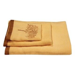 Dainty Home Arbor Cotton 3-piece Bath Towel Set