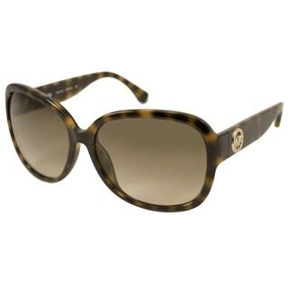 Michael Kors Women's M2947S Channing Rectangular Sunglasses